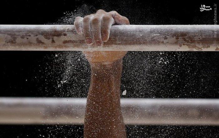 برگزاری رقابت انتخابی بین ورزشکاران ژیمناستیک کار انگلیسی