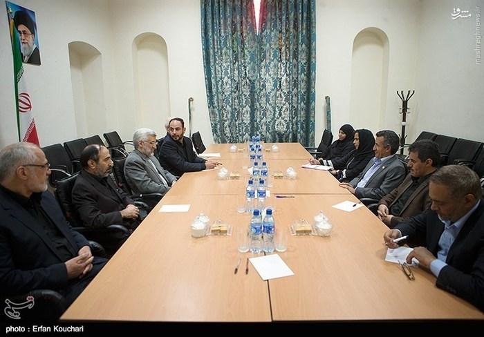 دیدار هیئت شورای انقلاب یمن با سعید جلیلی