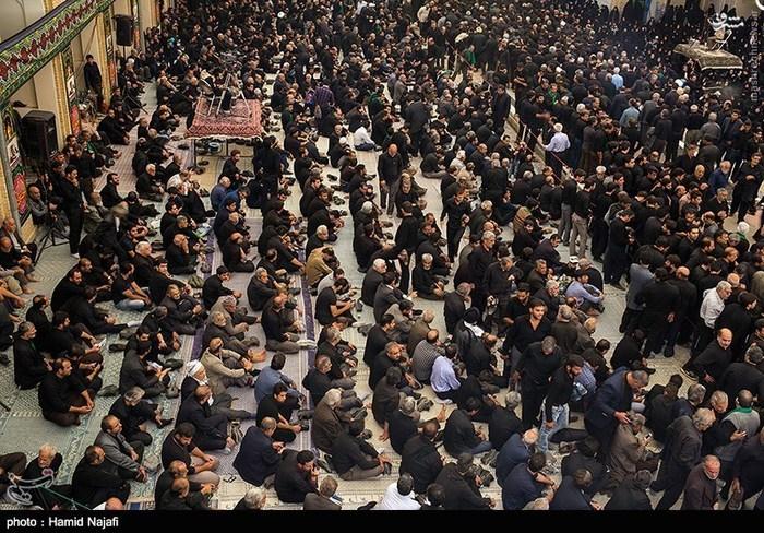 عزاداری روز سیزدهم محرم در یزد