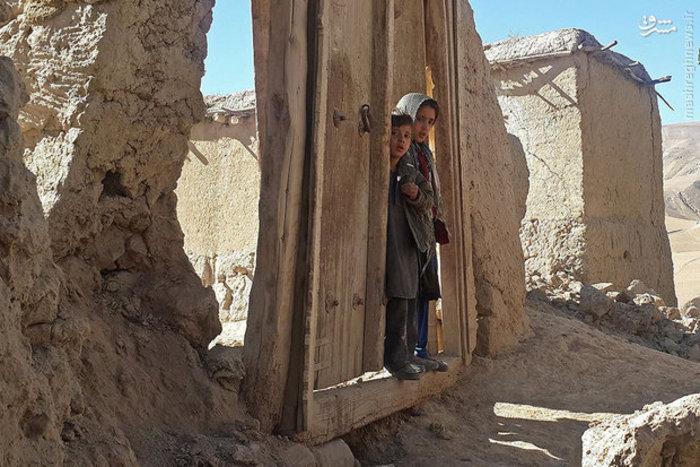 تخریب خانه ها بر اثر زلزله در ولایت تخار افغانستان
