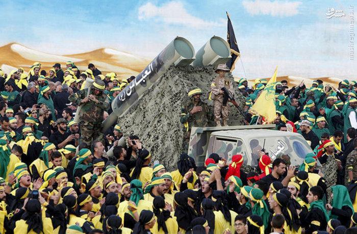 حاشیه مراسم تشییع شهدای لبنانی