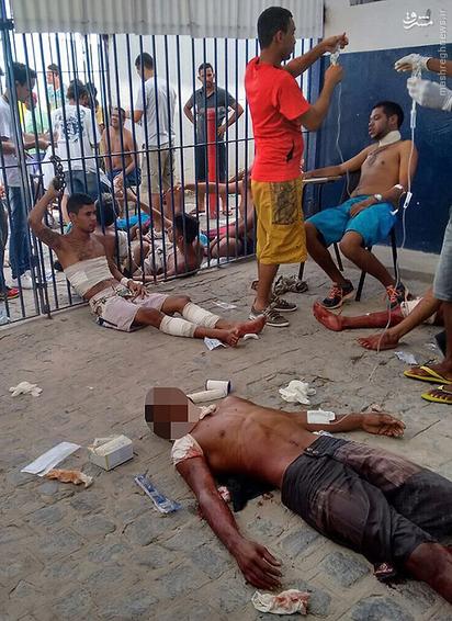 در سالهای اخیر زندانهای برزیل از سوی ارگانهای حقوق بشری دنیا به علت تراکم جمعیت بالا و وضعیت نامناسب بهداشتی به شدت زیر سوال قرار دارند