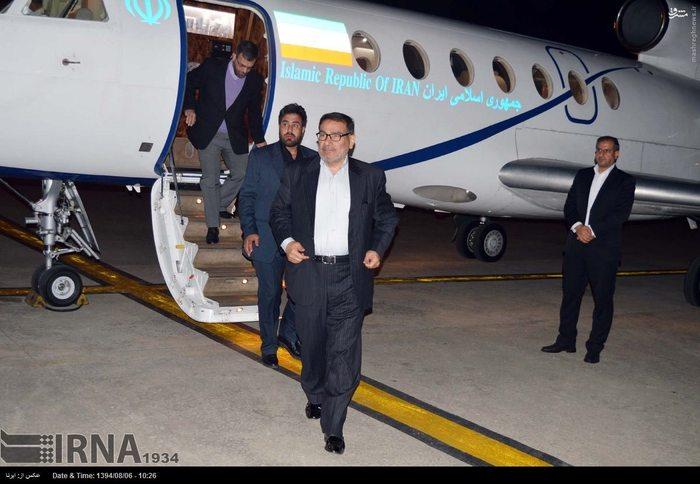 ورود دبیر شورای عالی امنیت ملی ایران به پاکستان