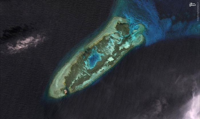 جزیره مصنوعی چینی