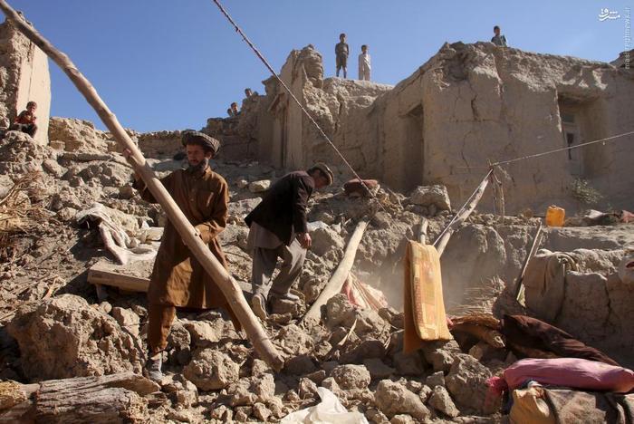 دو روز پس از زمین لرزه افغانستان