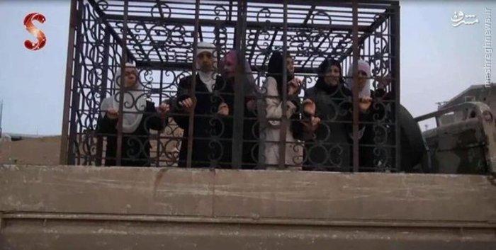 ایجاد سپر انسانی درسوریه توسط تروریستها