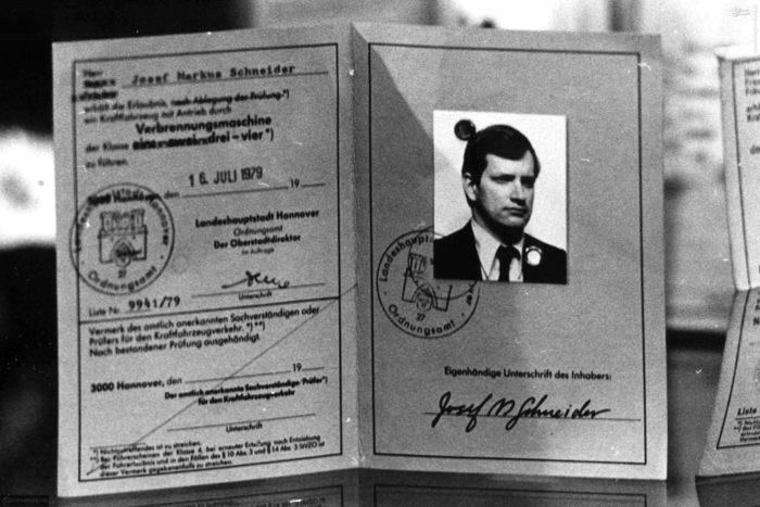 تصویر یک صفحه از پاسپورت جعلی یکی از گروگانهای امریکایی
