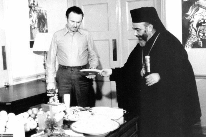 برگزاری مراسم عید پاک باحضور اسقف هیلاریون کاپوچی