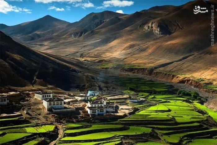 روستایی در هیمالیا، تبت
