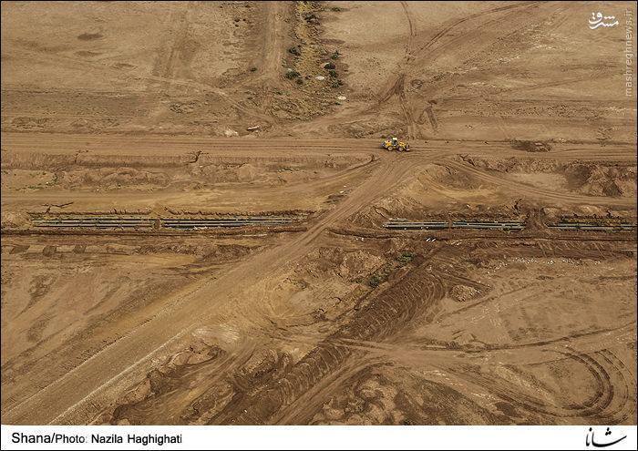 عملیات انتقال نفت در منطقه غرب کارون