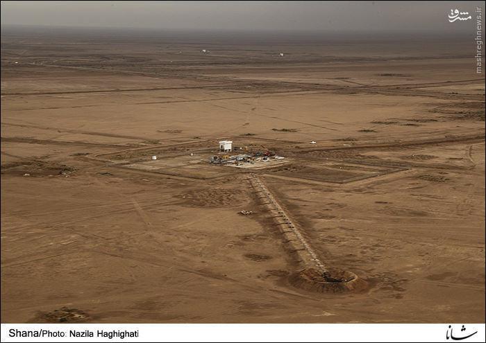 چاههای نفت در  بین مسیر  اهواز 1