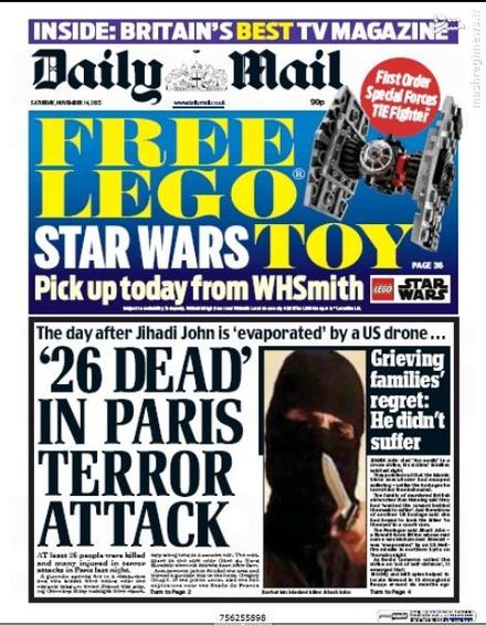 روزنامه دیلی میل انگلیس: