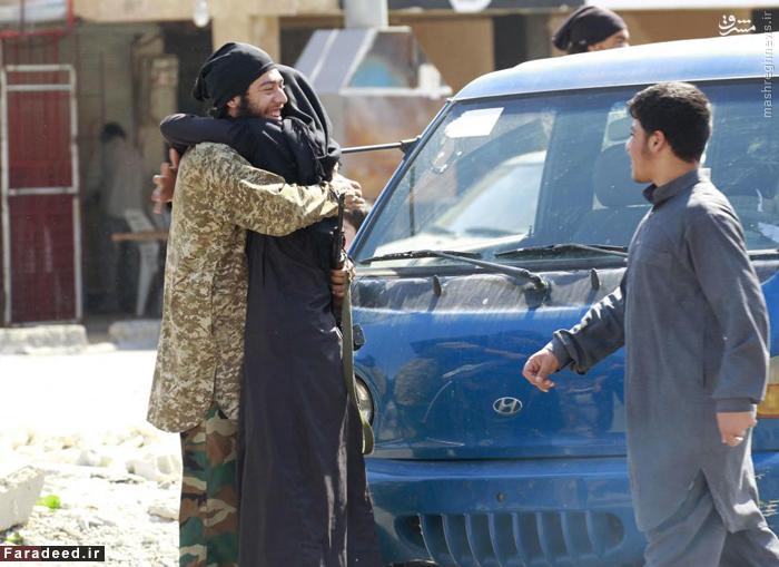 دو تن از اعضای داعش در