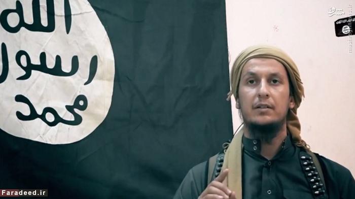 یکی از عناصر گروه تروریستی داعش در