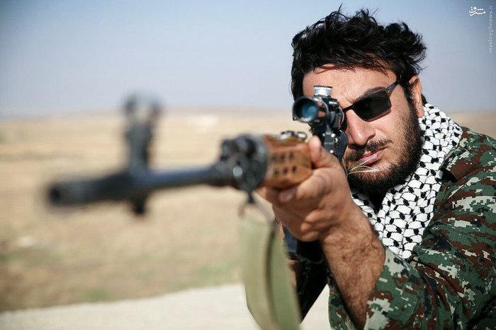 جاتون خالی. اونجا دمار ازروزگار داعشیها درآوردم
