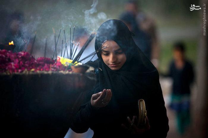 دختر پاکستانی در اسلام آباد