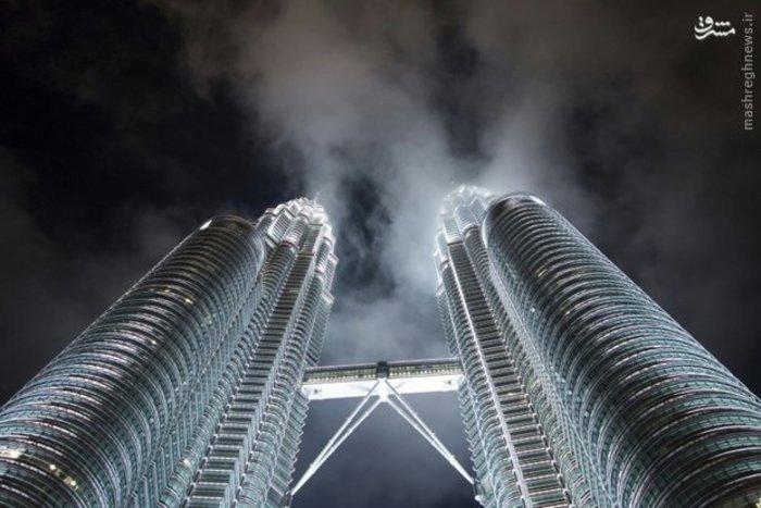 برج های دو قلو شهر کوالالامپور پایتخت مالزی