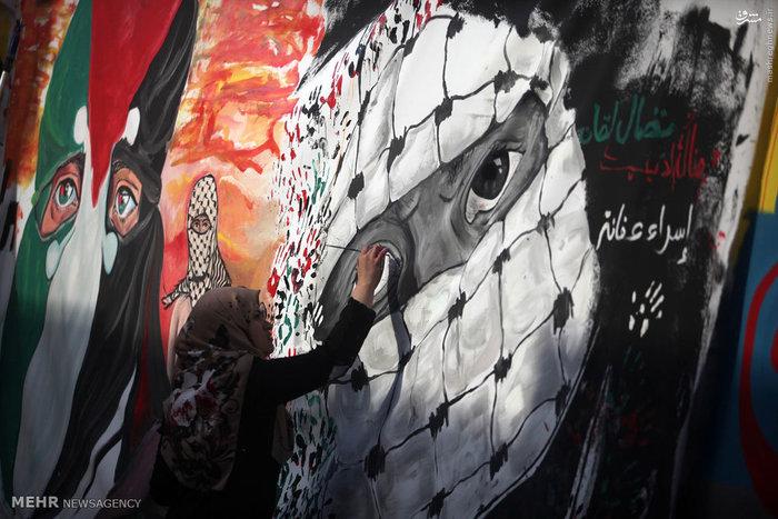 هنر خیابانی در فلسطین