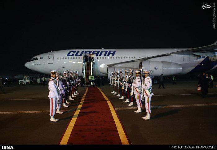 ورود روسای جمهور نیجریه ، ونزوئلا و بولیوی به تهران