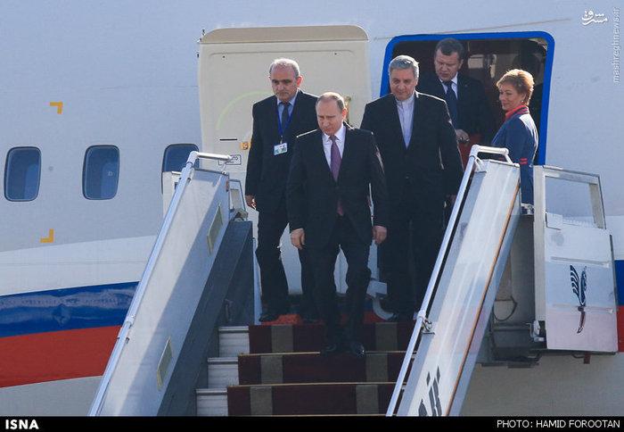 ورود پوتین به تهران