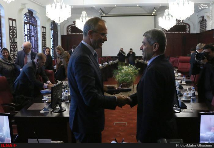 دیدار وزیر اقتصاد هلند با طیبنیا