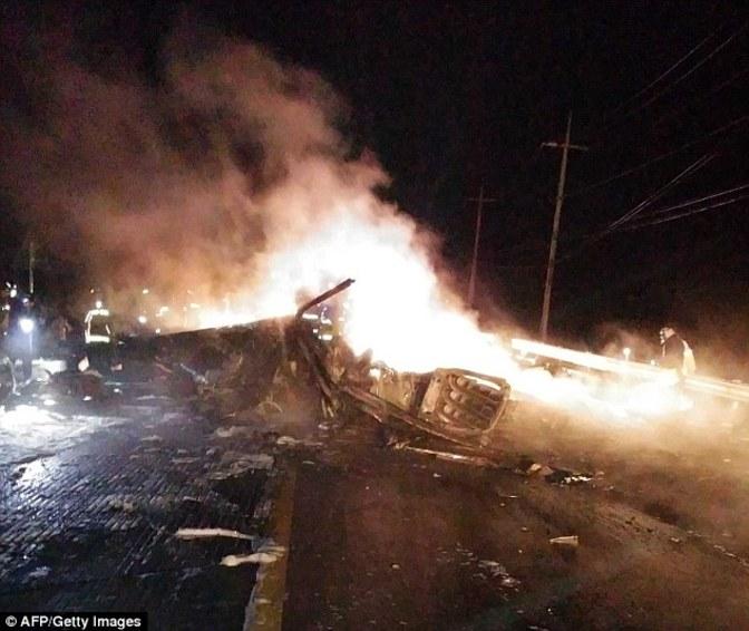 سقوط هلیکوپتر آپاچی آمریکایی در کُره