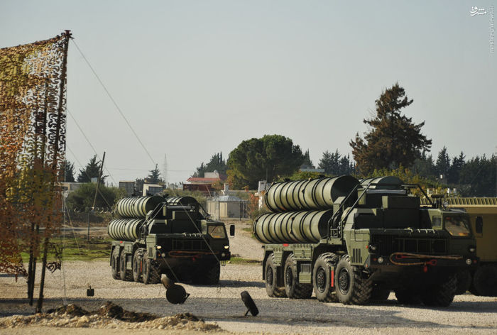 سامانه موشکی پدافند هوایی اس 400 در سوریه