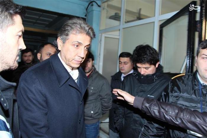 مصطفی دمیر در بازداشت پلیس ضد فساد