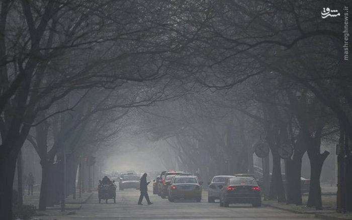 بحران آلودگی هوا در پکن چین