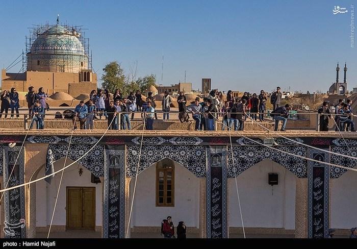 مراسم سنتی پوشبندی در یزد