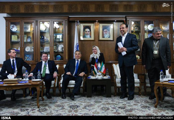 حضور نخستوزیر مجارستان در اتاق بازرگانی ایران