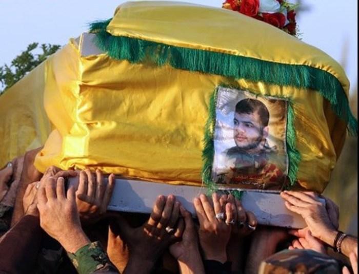 مراسم تشییع پیکر مطهر شهید «علی جهاد طنانا»