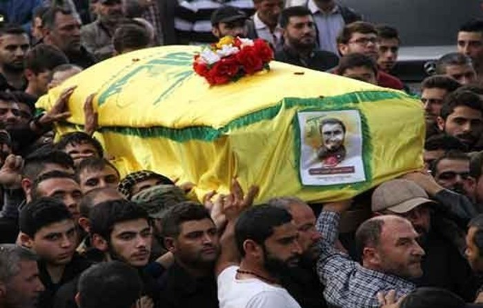 مراسم تشییع پیکر مطهر أحمد یوسف المیر(غریب)