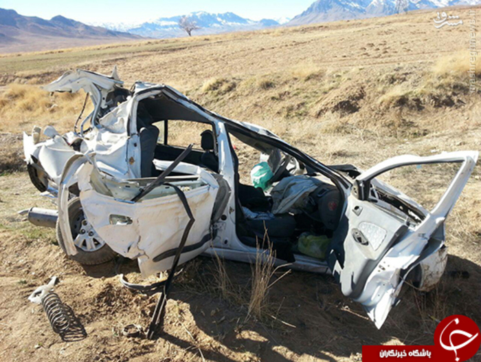 تصادف دیروز اصفهان عکس/ تصادف مرگبار در جاده بوئین و میاندشت