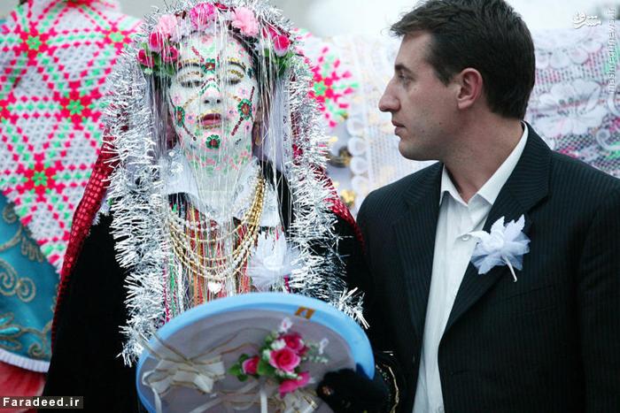 زشتکردن عروس در بلغارستان برای ترساندن داماد