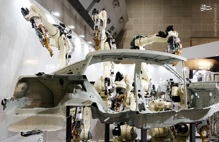 نمایش جدیدترین رباتها در توکیو