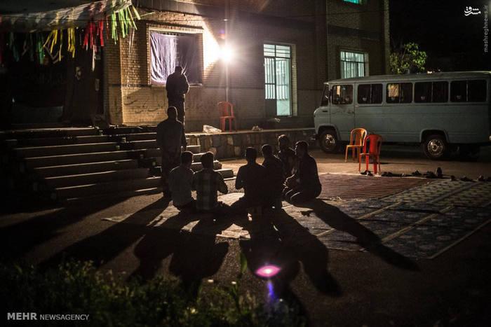 اردوی جهادی در روستاهای شهرستان بازفت