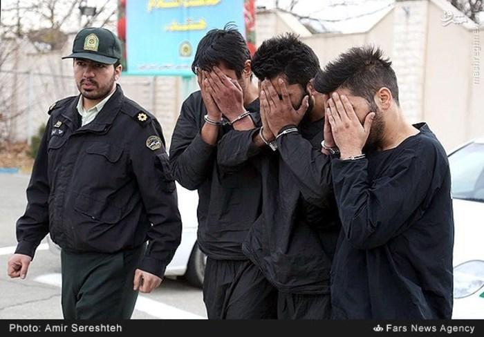 دستگیری باند 14 نفره سارقان خودرو در کرج