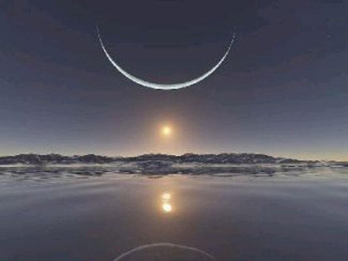 غروب زیبای آفتاب در قطب شمال …