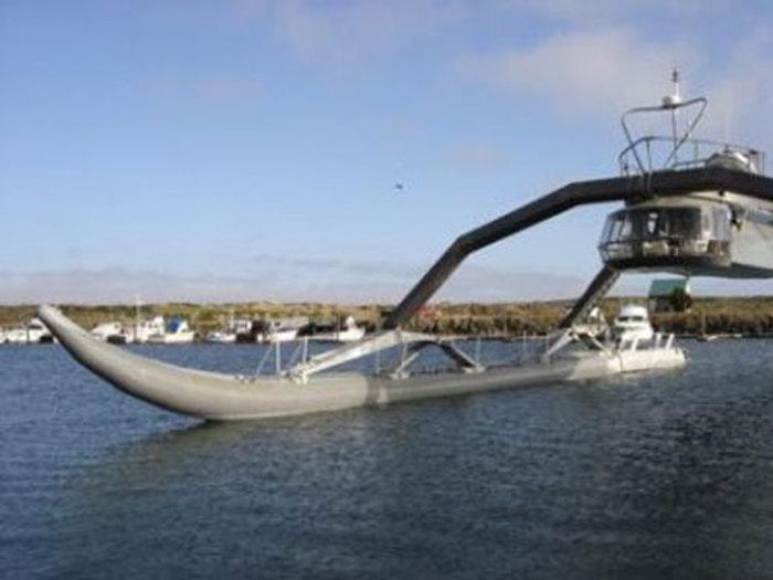 یک قایق عجیب و غریب !
