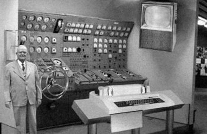 اولین کامپیوتر شخصی اینگونه بود (سال 1954)