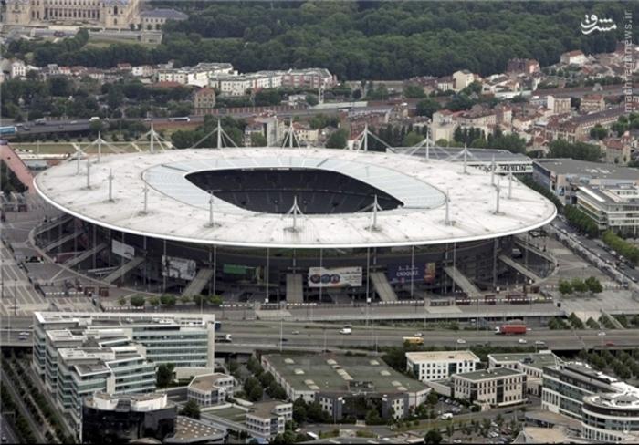 1- ورزشگاه استاد دو فرانس (سنت دنیس)؛ گنجایش: 80 هزار تماشاگر