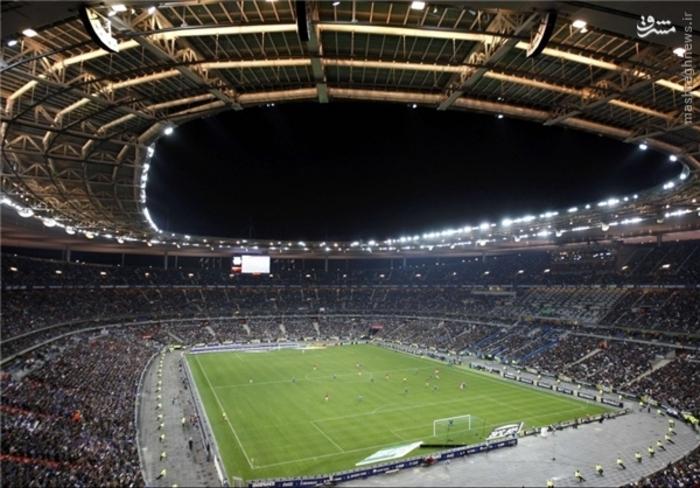 ورزشگاه استاد دو فرانس (سنت دنیس)؛ گنجایش: 80 هزار تماشاگر