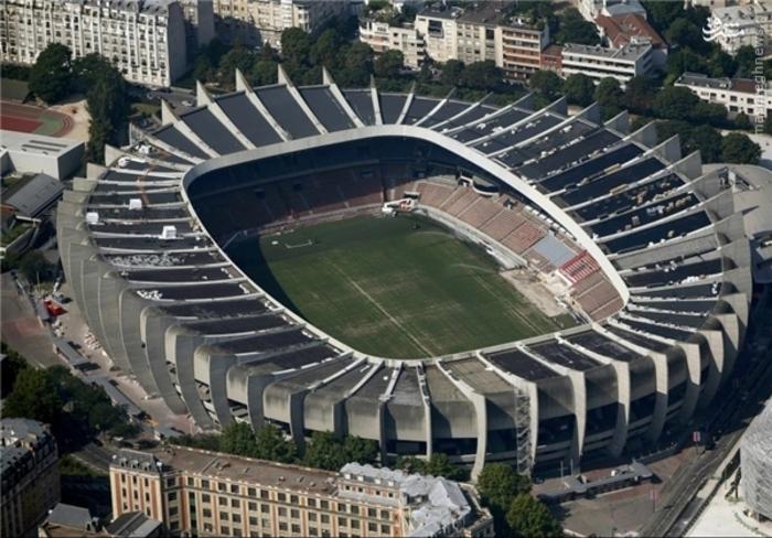 3- ورزشگاه پارک دو پرنس پاریس؛ گنجایش 45 هزار تماشاگر
