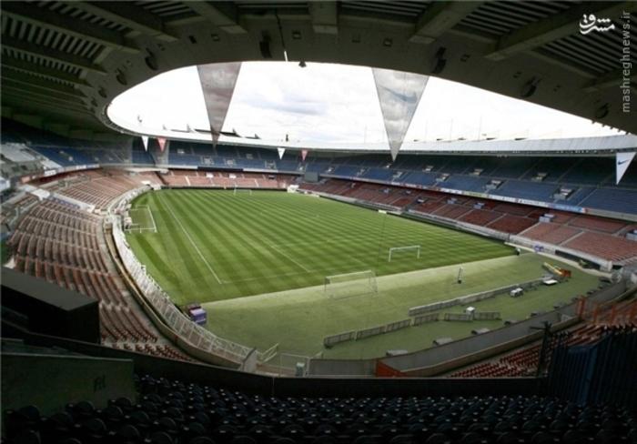 ورزشگاه پارک دو پرنس پاریس؛ گنجایش 45 هزار تماشاگر