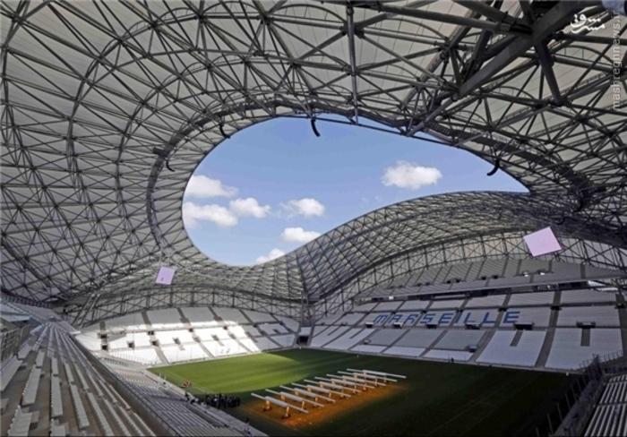 ورزشگاه ولودروم مارسی؛ گنجایش 67 هزار تماشاگر