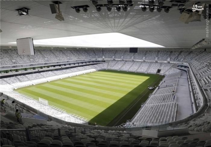 7- ورزشگاه بوردو؛ گنجایش 42 هزار تماشاگر