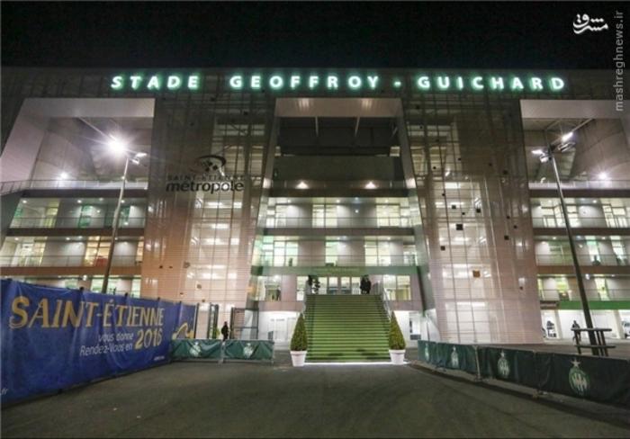 8- ورزشگاه سن اتین؛ گنجایش 42 هزار تماشاگر