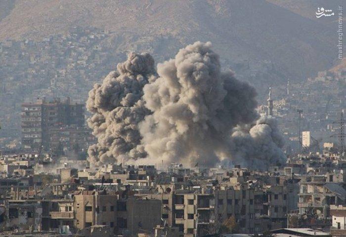 بمباران در سوریه