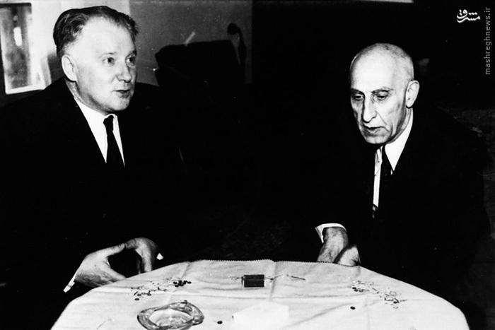 ملاقات سفیر وقت روسیه و مصدق (دوم اوت 1953) (11 مرداد 1332)